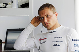 Bottas is one fast man, behind the wheel too
