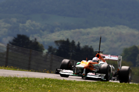 Paul di Resta, Force India, Mugello testing 2012