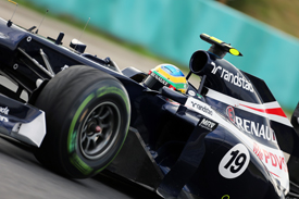 Bruno Senna, Williams, Hungary 2012