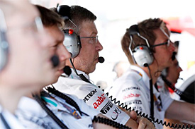 Mercedes not writing off 2012 season