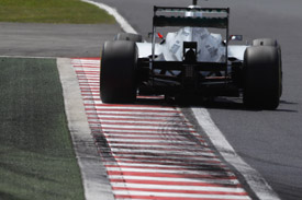 Mercedes controversial double DRS is to be banned for 2013