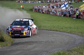 Sebastien Loeb Citroen WRC 2012 Finland