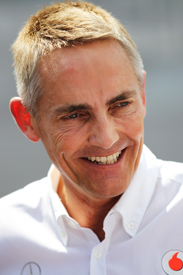 Martin Whitmarsh McLaren 2012