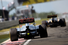 Jenson Button, McLaren, Hungaroring 2012