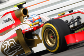 Narain Karthikeyan HRT German Grand Prix 2012