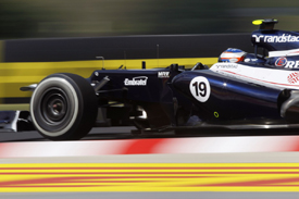 Valtteri Bottas, Williams, Hungaroring 2012