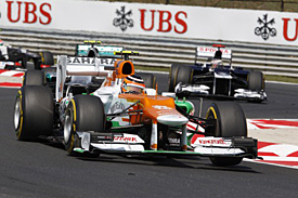 Nico Hulkenberg, Force India, Hungary, 2012