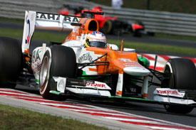 Paul di Resta Force India 2012