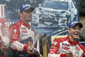 Loeb can't stop winning in Germany