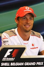 Jenson Button McLaren 2012 Belgian Grand Prix