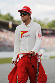 Fernando Alonso Ferrari 2012 German Grand Prix