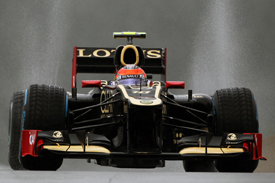 Romain Grosjean Lotus 2012 Belgian Grand Prix
