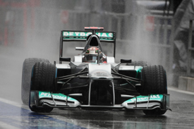 Michael Schumacher, Mercedes, Spa 2012