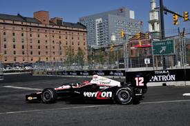 Will Power, Penske, Baltimore 2012