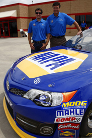 Martin Truex Jr and Michael Waltrip