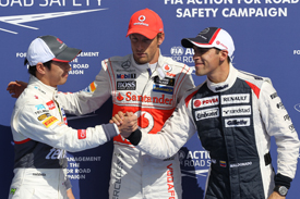 Jenson Button takes Spa pole