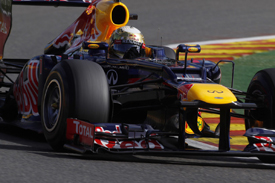 Sebastian Vettel, Red Bull, Spa 2012