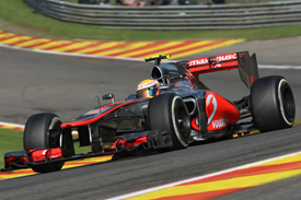 Lewis Hamilton, McLaren, Spa 2012