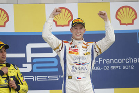 Josef Kral wins at Spa