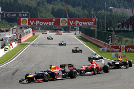 Mark Webber, Red Bull, Spa 2012