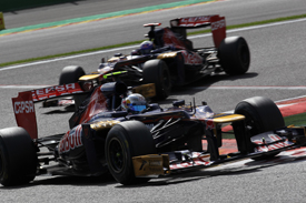 Jean-Eric Vergne, Toro Rosso, Spa 2012