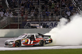 Denny Hamlin wins at Atlanta