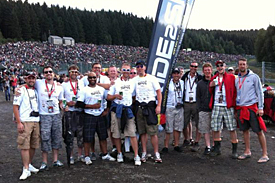 The amazing Ride2Spa crew