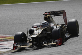 Kimi Raikkonen, Lotus, Spa 2012
