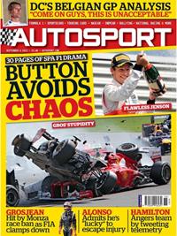 AUTOSPORT cover 060912