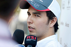 Sergio Perez, Sauber, Monza 2012