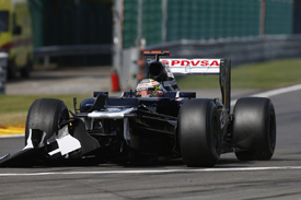 Pastor Maldonado, Williams, Spa 2012