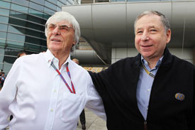 FIA president Jean Todt