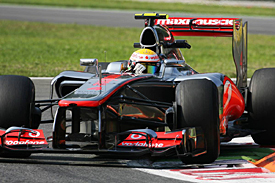 Lewis Hamilton, Monza, 2012
