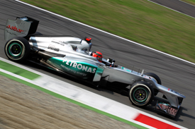 Michael Schumacher, Mercedes, Monza 2012