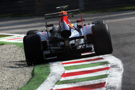 Mark Webber, Red Bull, Monza 2012
