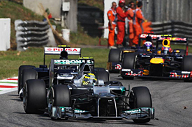 Nico Rosberg, Mercedes, Monza, 2012