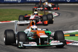 Paul di Resta, Force India, Monza 2012