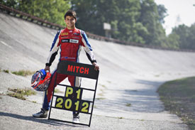 Mitch Evans GP3 2012 Champion