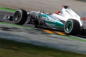 Mercedes plans major upgrade for test