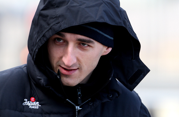 Robert Kubica Renault 2011 F1 test
