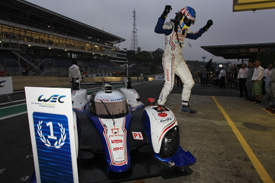 Alex Wurz and Toyota win at Interlagos