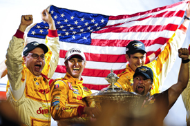 Ryan Hunter-Reay wins the IndyCar title