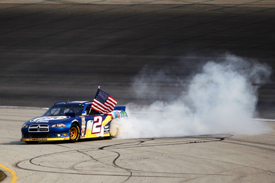 Brad Keselowski wins at Chicagoland
