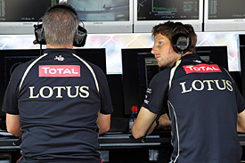 Romain Grosjean, Lotus, Monza 2012