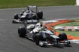 Sergio Perez Kamui Kobayashi Sauber 2012 Italian GP