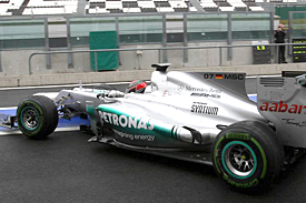 Mercedes, young driver test, 2012