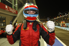 Luca Filippi takes Singapore pole