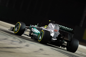 Nico Rosberg Mercedes 2012 Singapore GP