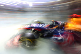 Sebastian Vettel, Red Bull RB8, 2012 Singapore Grand Prix FP3