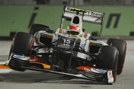 Sergio Perez Sauber 2012 Singapore GP